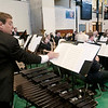 Record-Eagle/Douglas Tesner<br /> <br /> The NMC Community Band provided music during the college's graduation at Traverse City Central High School.