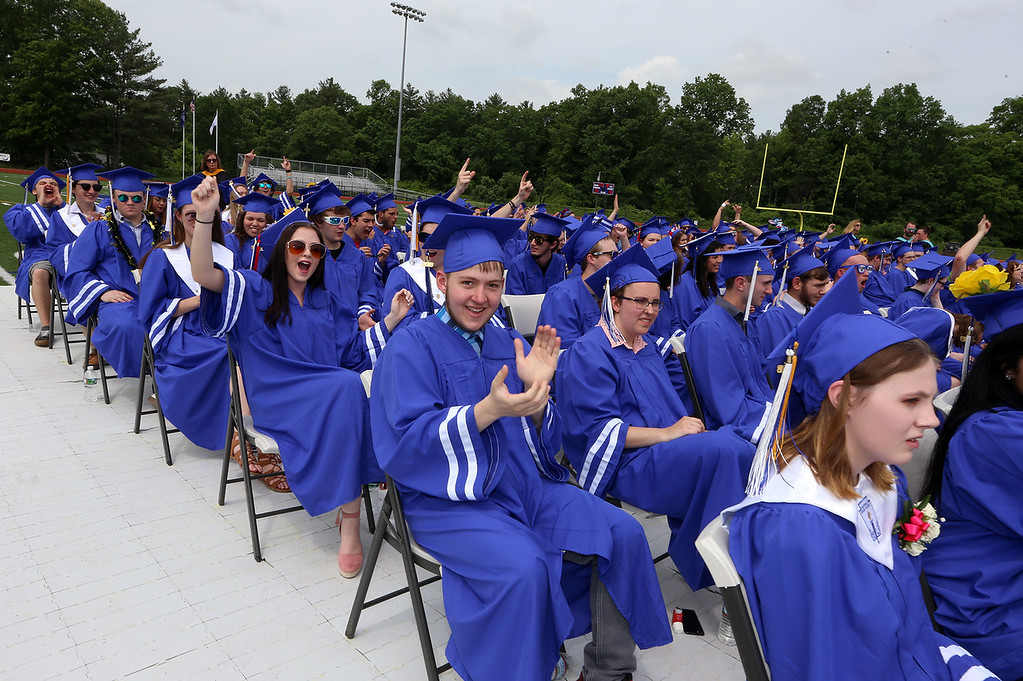 . Nashoba Tech graduation. (SUN/Julia Malakie)