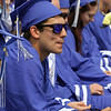 Nashoba Tech graduation. Garrett Piper of Tyngsboro. SUN/Julia Malakie)