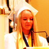 "Diane Raver | The Herald-Tribune<br /> Valedictorian Carsen Thompson addressed her classmates, saying, ""No matter where you do end up going ... remember where you have been and the relationships you've made."""
