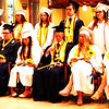 Diane Raver | The Herald-Tribune<br /> When they received their diplomas, the graduates were also presented with a sunflower, their class flower.