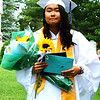 Diane Raver | The Herald-Tribune<br /> Jacklinh Tran received a bouquet of flowers.