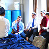 Diane Raver | The Herald-Tribune<br /> Students spend time together before the ceremony.