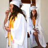 Diane Raver | The Herald-Tribune<br /> One students had the munchies before the ceremony.