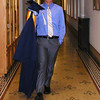 Diane Raver | The Herald-Tribune<br /> AN OA SENIOR heads for the gathering area prior to graduation.