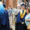 Diane Raver | The Herald-Tribune<br /> GRADUATES were all smiles as they posed for family photos.