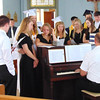 Diane Raver | The Herald-Tribune<br /> The Academy Singers had one last rehearsal prior to performing at graduation.