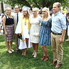Diane Raver | The Herald-Tribune<br /> Haleigh Reed joined her family after the ceremony. Her three older siblings are also OA grads.