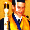 "Diane Raver | The Herald-Tribune<br /> ""When we look to our future and dream of where we are in five, 10, 20 years, we should not concern ourselves with satisfying the expectations of our parents or peers, but instead we should focus on achieving our own feelings of fulfillment and modest interpretation of success,"" announced valedictorian Daniel Siemer."