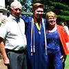 Diane Raver | The Herald-Tribune<br /> Kyle Eckstein is congratulated by his grandparents.