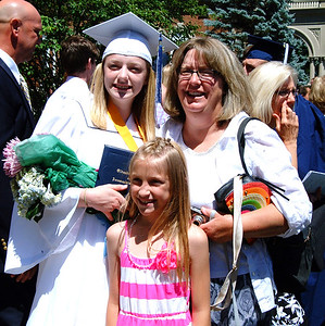 Diane Raver | The Herald-Tribune Catherine Cigolotti and her family were all smiles after the ceremony.