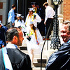 Diane Raver | The Herald-Tribune<br /> Graduates exit the chapel at the end of the ceremony.