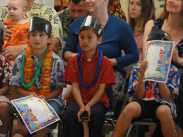 Riley's Kindergarten Promotion and Celebration