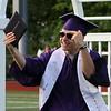 Shawsheen Tech graduation. Nick Lavino of Tewksbury. (SUN/Julia Malakie)
