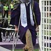 Shawsheen Tech graduation. Tom King III of Wilmington. (SUN/Julia Malakie)