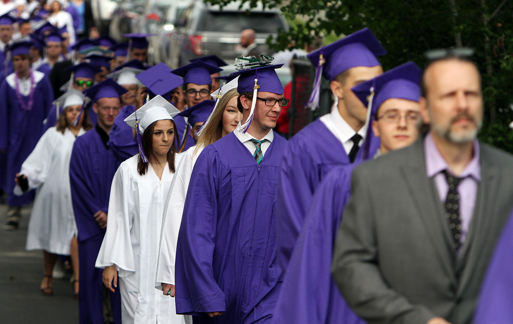 . Shawsheen Tech graduation. (SUN/Julia Malakie)