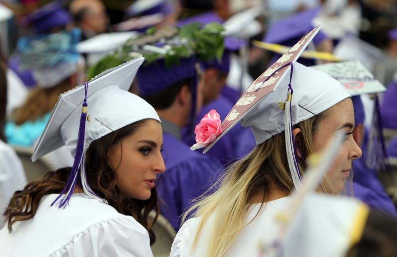 Shawsheen Tech graduation. (SUN/Julia Malakie)