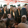 "Record-Eagle/Douglas Tesner<br /> Students from Traverse City Central High School enter Kresge Auditorium on the Campus of Interlochen Center for the Arts to ""Pomp and Circumstance"" during the processional."