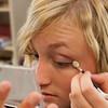 Record-Eagle/Douglas Tesner<br /> Samantha Walton does her makeup.