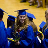 Record-Eagle/Jan-Michael Stump<br /> Traverse City St. Francis High School graduation Sunday.