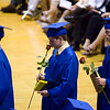 Record-Eagle/Jan-Michael Stump<br /> Traverse City St. Francis High School graduate graduation Sunday.