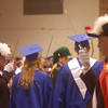 Record-Eagle/Sarah Brower<br /> Graduates entered through the Grand Traverse Assembly, Knights of Columbus No. 00499.