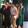 Record-Eagle/Jan-Michael Stump<br /> Leonard Popa (cq) receives his diploma during Traverse City West High School graduation Saturday at the Interlochen Center for the Arts. Popa was one of three veterans who received their diplomas after serving in World War II and the Korean War during their high school years.