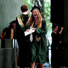 Record-Eagle/Jan-Michael Stump<br /> Traverse City West graduate Andrea Long (cq) laughs after receiving her diploma during commencement Sunday at the Interlochen Center for the Arts.