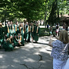 Record-Eagle/Keith King<br /> A group of graduating seniors has their photo taken Sunday, June 5, 2011 prior to the start of the Traverse City West High School graduation ceremony at the Interlochen Center for the Arts.