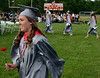 Upper Dublin High School Class of 2014 members march onto the stadium field for their Commencement Ceremony at the school on Tuesday evening June 10,2014. Photo by Mark C Psoras/The Reporter