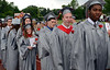 Upper Dublin High School Class of 2014 members march into the stadium for their Commencement Ceremony at the school on Tuesday evening June 10,2014. Photo by Mark C Psoras/The Reporter