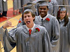 Upper Dublin High School Class of 2014 members line up in the gym before the start of  their Commencement Ceremony at the school on Tuesday evening June 10,2014. Photo by Mark C Psoras/The Reporter