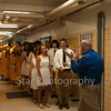 The Cloudland class of 2014 awaits their entrance into the gymansium for the commencement ceremony