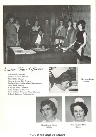 1970 White Caps Seniors