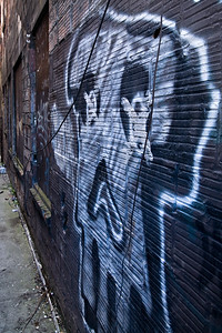 Alley Ghost - Capitol Hill, Seattle, Washington