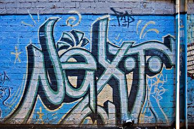 Street Art and Graffiti, Downtown, Olympia, Washington