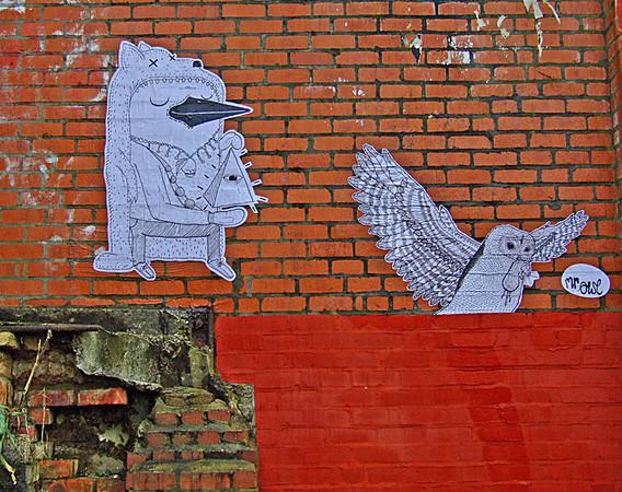 Malarky & Mr Owl