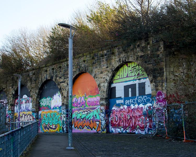 Gateshead HoF Street Art