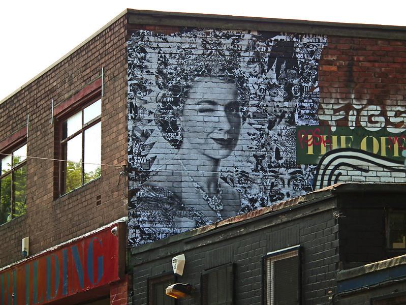 Prefab 77 celebrates the Queen's Diamond Jubilee in Ouseburn, Newcastle
