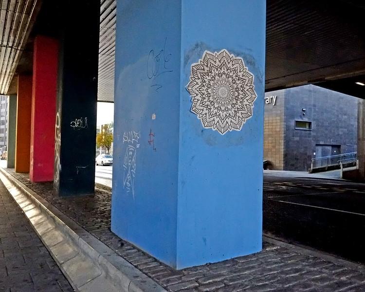 Paste -Up Newcastle city centre