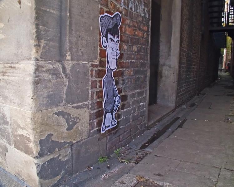 Newcastle Street Art  by Lend Art