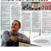 My Exhibition interview in the Evening Chronicle