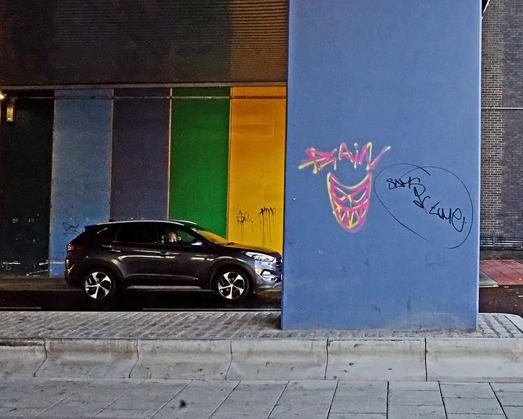 Graffiti Newcastle city centre