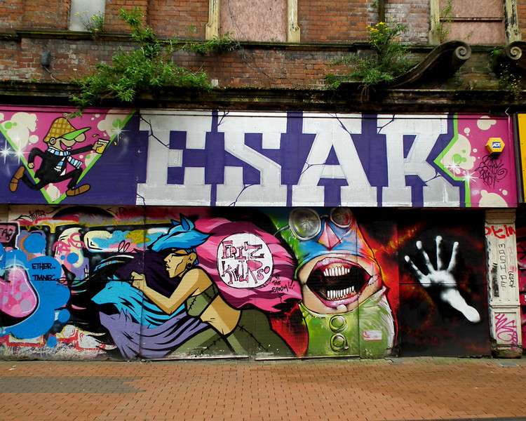 May 2013 - Belfast Cathedral Quarter.