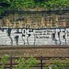 Metro grafitti nr Tanners Arms