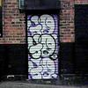 grafitti nr Tanners Arms