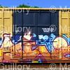 Grafitti, Railroad Train cars, Lafayette, La 07202017 001