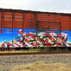 Grafitti, Train, Lafayette, Louisiana 12222017 003