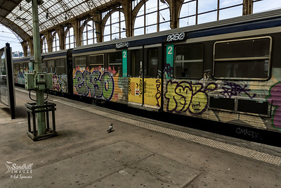 Not Ecuador, but Nice, France rail station