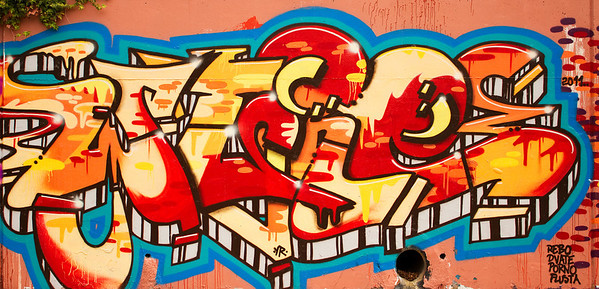 Woden Drain Graffiti, Canberra